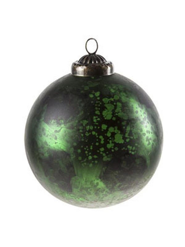 Kerstbal Groen Set 2