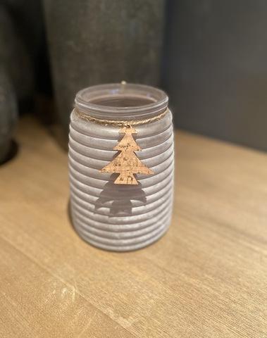 Vaas White Kerstboompje Small