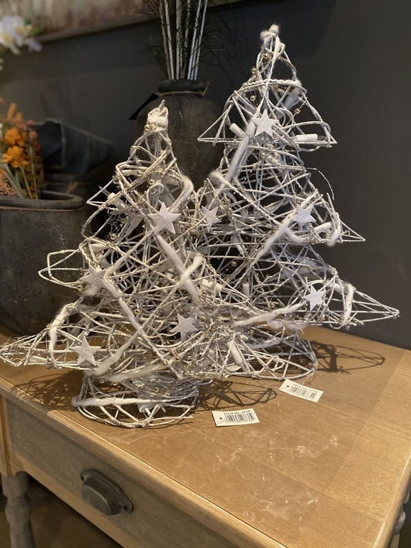 Kerstboom ster licht large