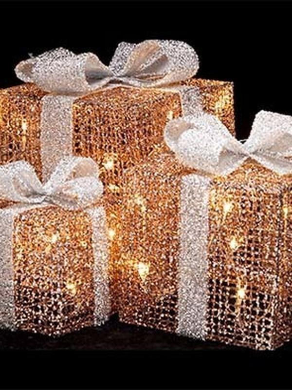 Giftbox set led koper